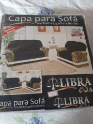 Capa para sofa 2 e 3 lugares nova. R$119,00