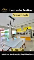 Título do anúncio: Casa de condomínio para venda tem 390 metros quadrados com 4 quartos