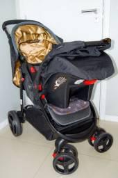 Carrinho de Bebê com Bebê Conforto Travel System Nexus Preto - Cosco