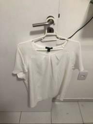 Título do anúncio: Blusa Crepe Off White Zizane - Nova