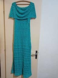 Título do anúncio: Vestido crochê longo