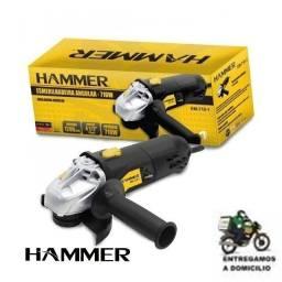 Título do anúncio: Esmerilhadeira Angular 710w 4.1/2 115mm Hammer