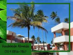 Título do anúncio: Ótimo paraíso no condomínio Praia da Pérola Ilhéus com aptos 2/4 e Chalés 3/4