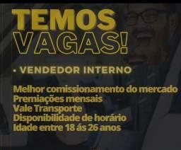 Título do anúncio: Vaga de vendedor (a)