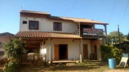 Casa 2 piso telhado de  barro terreno 12x23 casa12x6  troco por sítio