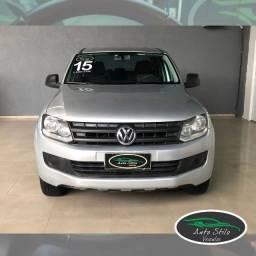 Título do anúncio: VW Amarok 4x4  CD S Prata 2014/2015 Completo