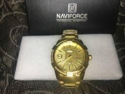 Título do anúncio: Relógio Aço inox_NAVIFORCE_/NIBOSI Em até 10x R$ 18,00 reais sem juros no cartão