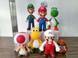 Bonecos Mario Bros