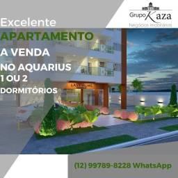Título do anúncio: Apartamento no Aquarius com 1 ou 2 dormitórios direto com  a construtora