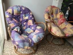 Cadeiras de fibra super luxo