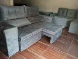 Título do anúncio: Sofa com retratil reclinável cm pillow top entrega grátis