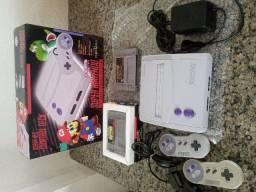 Título do anúncio: Super Nintendo + caixa (Usado)