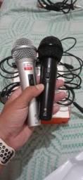 Título do anúncio: Microfones LELONG NOVO NA CAIXA