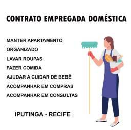 Título do anúncio: Procuro empregada doméstica mensalista (carteira assinada) em Recife