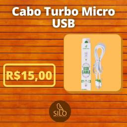 Cabo turbo micro USB