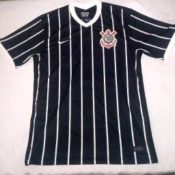 Camisa Corinthians - Away (Preta) - 2020/2021