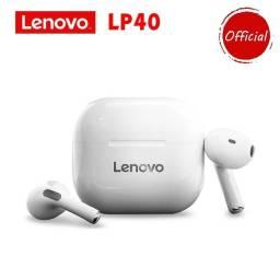 Fones De Ouvido Lenovo Lp40 Tws Bluetooth 5.0 Original