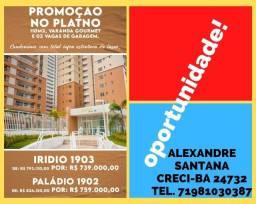 Título do anúncio: oportunidade , promoção platino (Iridio & Paládio) R$ 739000,00//759000,00