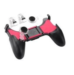 Gamepad Controle Para Celular 5 Em 1 Gatilho + Analógico