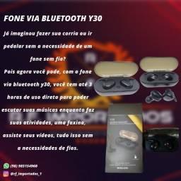 Título do anúncio: Fone Via Bluetooth Y30