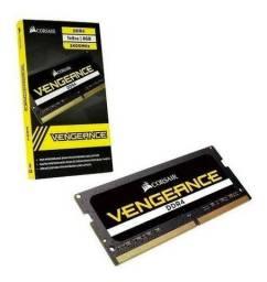 Título do anúncio: Memoria Ram 8GB DDR4, 2400MHz para Notebook, Corsair Vengeance, Novo