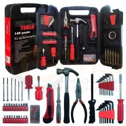 Título do anúncio: Kit de ferramentas com 142 paças uso domestico