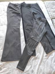 3 calças Tam 36