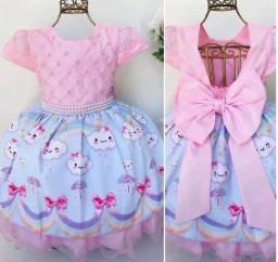 Vestido chuva de bênção lindo para 3 anos somente 110$