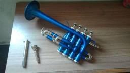 Título do anúncio: Vendo Trompete Piccolo