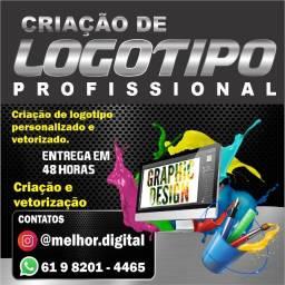 Título do anúncio: Criação de Logotipo personalizado - Criação e vetorização de logotipo