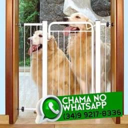 Título do anúncio: Grade Proteção para Porta 70 a 80cm * Crianças / Cachorro * Fazemos Entregas