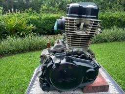 Motor cg 150/bros preparado 242cc