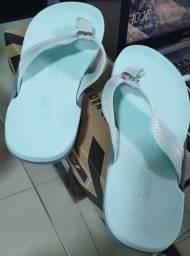 Título do anúncio: sandália kenner nk6 neutral original nova nunca usada tamanho 40