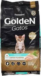 Ração Golden Gatos filhote 10,1kg 119,90