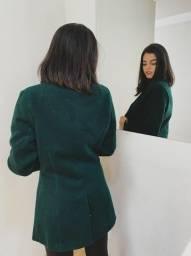 Casaco de lã batida - Importado Italiano