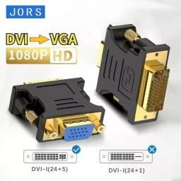 Título do anúncio: Conversor DVI pra VGA 24+5
