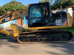 Título do anúncio: Escavadeira Hidráulica Caterpillar 312D2L Ano 2014