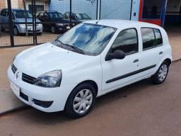 Título do anúncio: Renault Clio 1.0 Authentic 2012 com Trava e Alarme