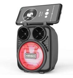 Caixa De Som Kimiso Kit com 05 Caixas Atacado Portátil Wireless Bluetooth Kms-1182