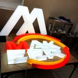 Título do anúncio: Fabricantes de letras caixa acesas!