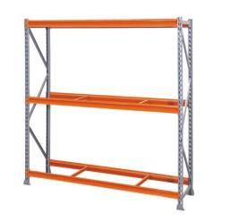 Título do anúncio: Mini Porta Pallet 4 Níveis com Continuação - 2,40 de comprimento