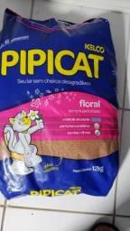 Areia p gato PipiCat, retirar no local