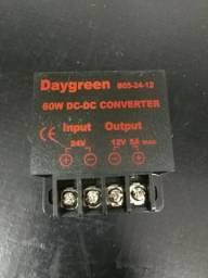Conversor 24v para 12v 5 amperes