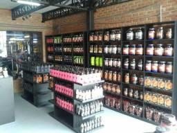 Moveis para loja de suplementos e comercial MDF 18mm Barbada