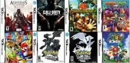 120 Jogos para Nintendo 3DS, DSi, DS Lite e mais 1.500 Jogos nos Emuladores