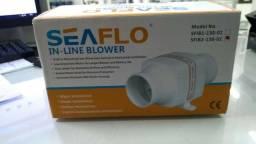 Exaustor Blower De Ventilação Náutico 130 Cfm 24v Linear