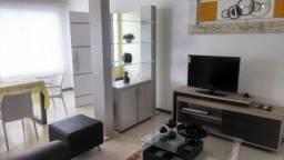 Alugo apartamento mobiliado - dois quartos com suíte e garagem coberta a 300m do Shopping