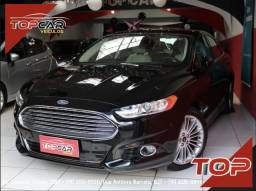 Ford Fusion Titanium Hybrid 2.0 15/16 é na Top Car! - 2016