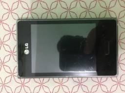 02 celulares: 01 Samsung (GT-I8730) e 01 LG (E400) para retirada de peças