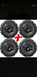 Kit 2 alto falantes pioneer novos (na caixa)